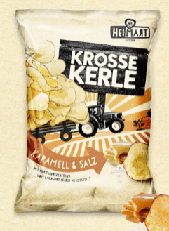 Heimart Krosse Kerle Salz und Karamell