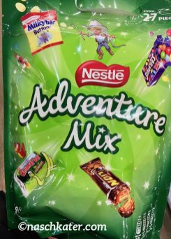 Nestlé Adventure Mix Duty Free Extra Size Lion Milkbar Smarties