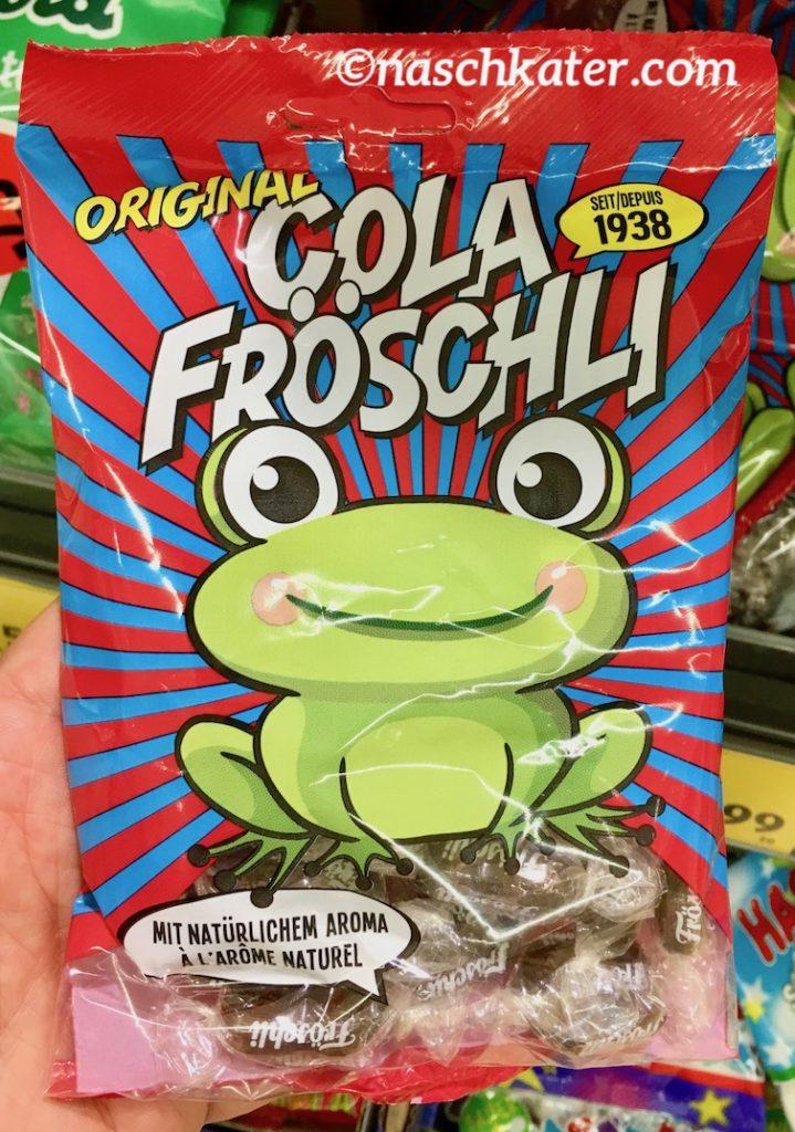 Original Cola Fröschli seit 1938 Schweiz