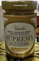 Venchi Suprema Bianca Aufstrich Weiße Schokolade, Haselnuss und Olivenöl