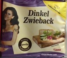 Zito Dinkel Zwieback Verpackung