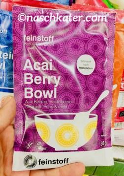 feinstoff Protein Bowl Acai Heidelbeer Amaranth