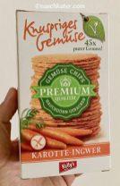 Kellys Knuspriges Gemüse Karotte-Ingwer Gemüse Chips