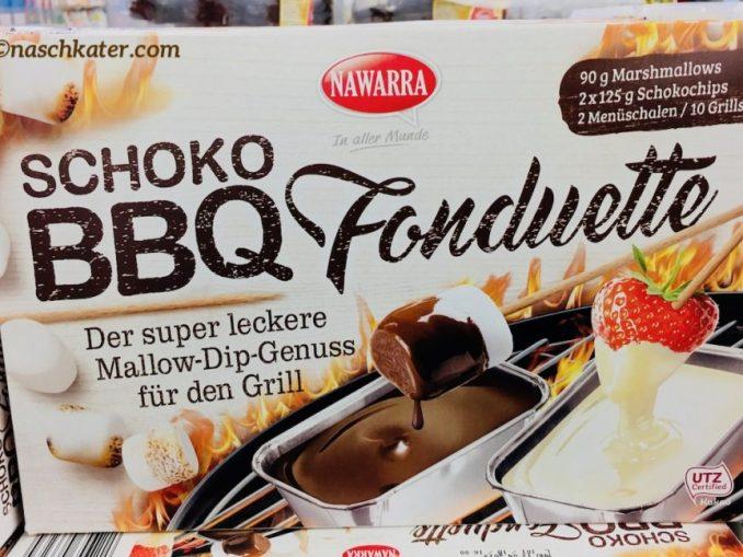 Nawarra Schoko BBQ Fonduette Marshmallow