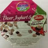 SachsenMilch Unser joghurt mit Zetti Schokoladenplätzchen