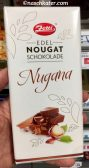 Zetti Edle Noougat Schokolade Nugana