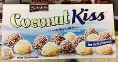 Aldi Scholetta Coconut Kiss 18 Schokoküsse mit Kokos ohne Schokolade