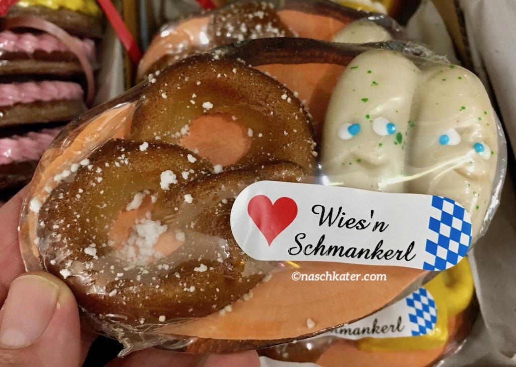 Funsch Edelmarzipan 65g Bretzel und Weißwürste Wiesn Schmankerl Oktoberfest
