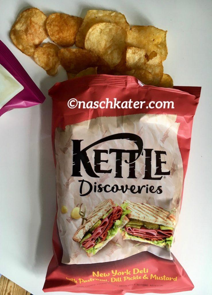 Kettle Discoveries: Britische Chips mit Geschmackssensationen