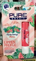 Pure&Basic Lippenpflegestift Florida Feelings Wasermelone Flamingo