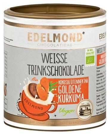 Weisse Trinkschokolade mit Kurkuma von Edelmond.