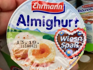 Ehrmann Almigurt Joghurt WiesnSpaß Marillenknödel Oktoberfest