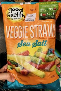 Good Health Veggie Straws Sea Salt Gemüsechips