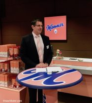 Manner Popup-Shop Eröffnung Geschäftsführer Dr. Alfred Schrott