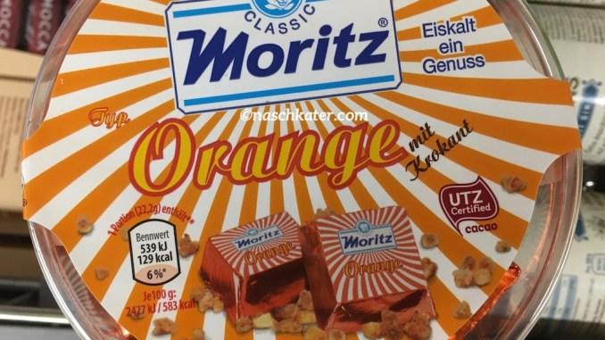 Moritz Classic Eiskonfekt Orange mit Krokant