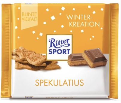 Ritter Sport Winterkreation Spekulatius