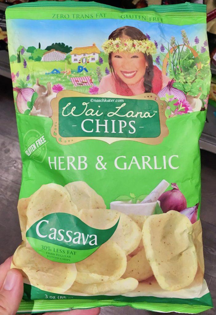 Wai Lana Chips Herb+Garlic Cassava