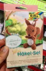 folia Eichhörnchen Mini-Häkel-Set