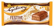 Süße Marken-Backwaren Galaxy Festive Cake Bars Orange