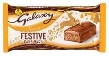 Galaxy Festive Cake Bars Orange