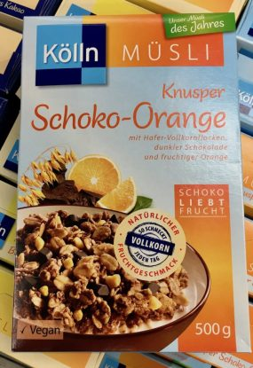 Kölln Müsli Knusper Schoko-Orange 500g