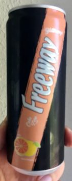Lidl Freeway Cola Dose mit Orange