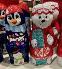 Nestlé Smarties KitKat SChokoladenhohlfiguren