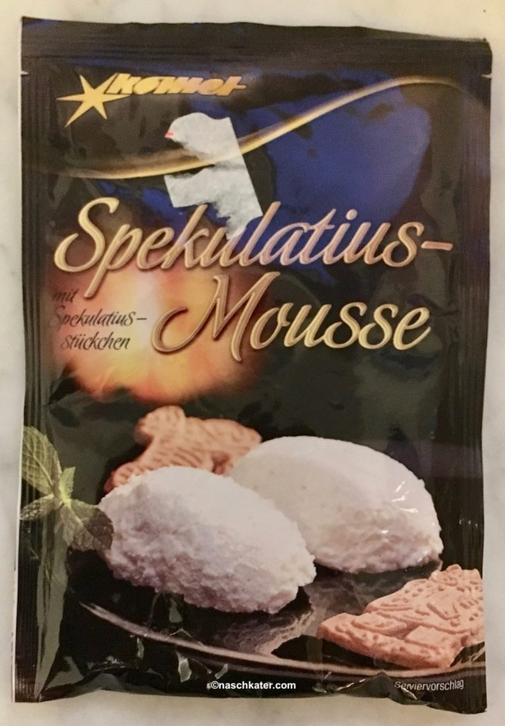 Spekulatius Mousse zum Selbstanrühren