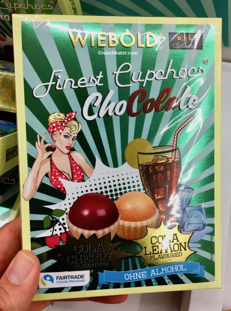 Wiebold Finest Cupchocs ChoColate Cola Lemon Pralinen