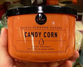 dw home Candy Corn Kerze Candysierung