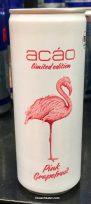 Acao Pink Grapefruit Getränkedose Flamingo