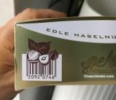 Lidl Piasten geNUSS Imitat Ferrero Küsschen mit kreativem Barcode