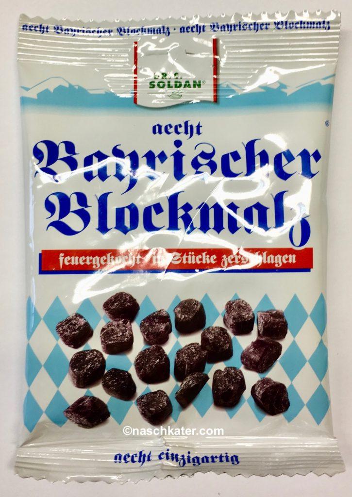Dr Soldan Aecht Bayischer Blockmalz Feuergekocht-in Stücke geschlagen