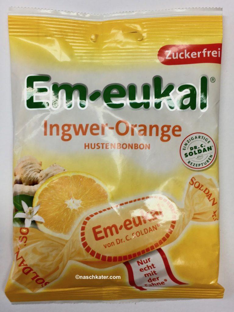 Dr Soldan Em-eukal Ingwer-Orange Hustenbonbon