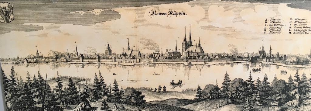 Historisches Bild von Neuruppin
