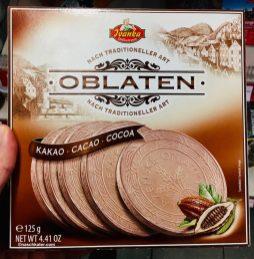 Ivanka Karlsbader Oblaten Kakao