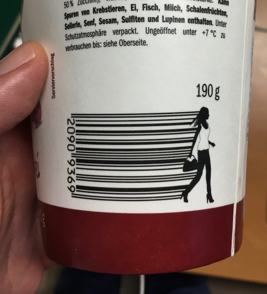 Lidl Wraps Barcode-To Go-Verpackung