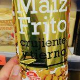 Maiz Frito frittierter Mais Hacendado 170g Spanien