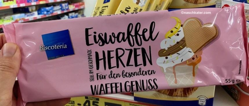 Netto Biscoteria Eiswaffel-Herzen
