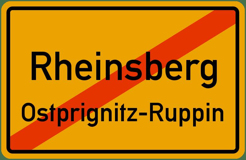 Rheinsberg.Ostprignitz-Ruppin.ortsausgang