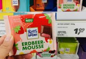 Ritter Sport Erdbeer-Mousse