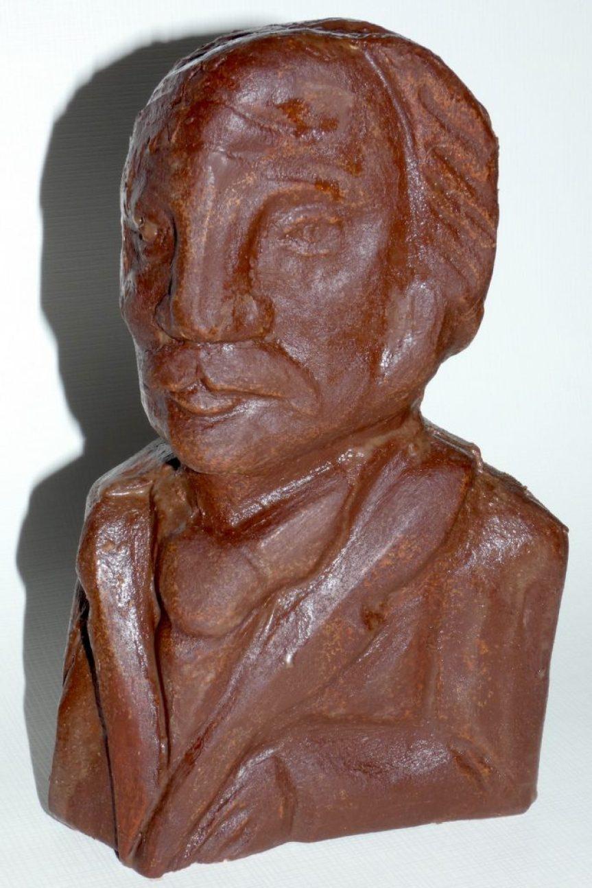 Theodor Fontane: Der Autor als Schokoladen-Büste