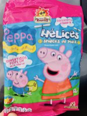 Tosfrit Peppa Helices Maissnack ohne Gluten