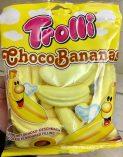 Trolli ChocoBananas Schaumzucker mit Schokoladenfüllung