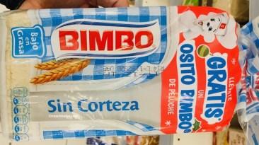 Extrem fluffiges, weißes Weißbrot von Bimbo