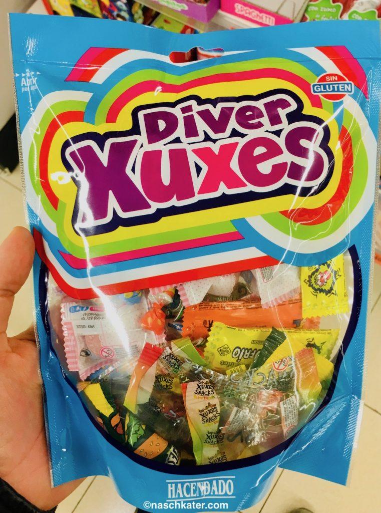 Hacendado Divers Xuxes Mixpackung Weingummi