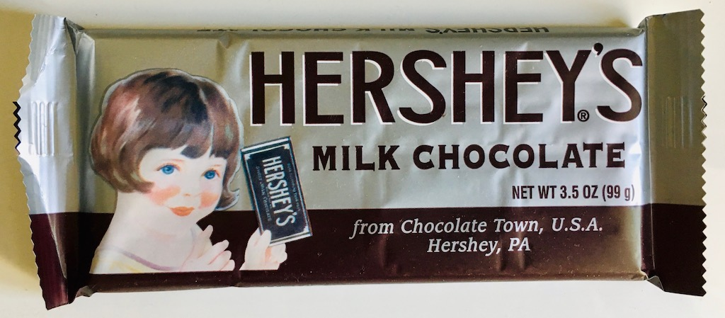 Hersheys Milk Chocolate 99g