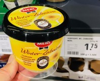 Merl Winter-Zabaione Fruchtwein-Sahnecreme mit Verpoorten Original Eierlikör
