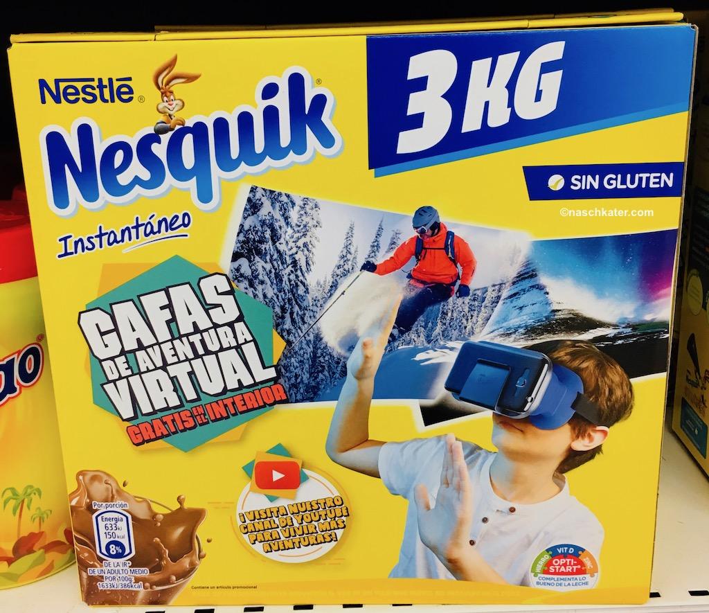 Nestle Nesquick Spanien Großpackung 3 Kilo