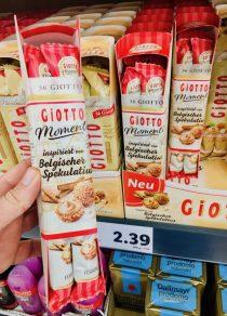 Ferrero Giotto Moments Beglischer Spekualitus